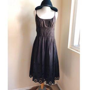 Ann Taylor Loft Cotton Eyelet Lace Dress